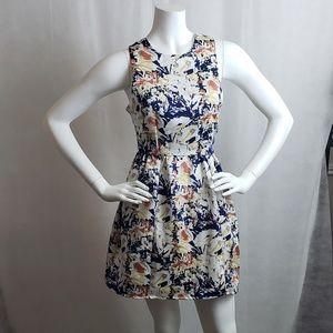 Pim + Larkin Womens Multicolor Floral CrissCross
